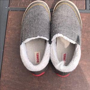 Sorel Mackenzie Snow Slip Ons Sneakers